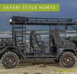 Safari Style Guided Hunts